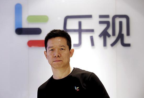 贾跃亭被移出乐视影业董事。视觉中国 资料
