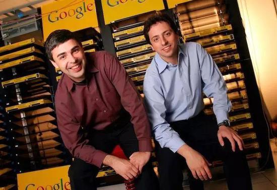 谷歌创始人拉里・佩奇和谢尔盖・布林