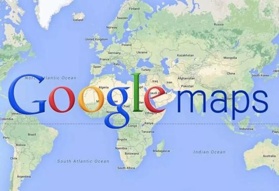 谷歌地图是第一款范围覆盖全球的电子地图服务