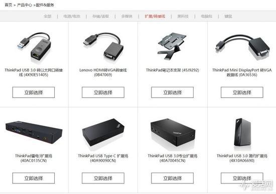 ThinkPad X1 Carbon的配件非常豪华