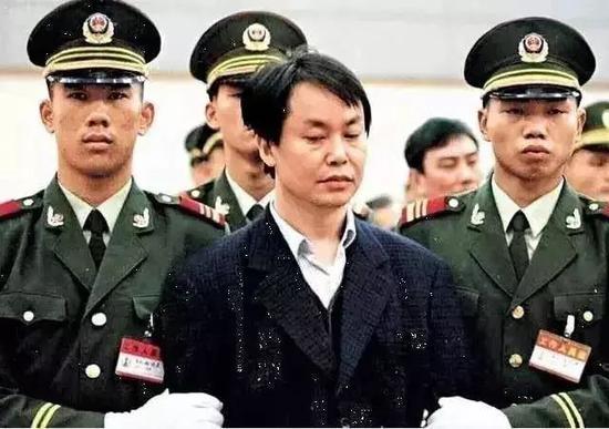 审判中的张子强,广州,1998年