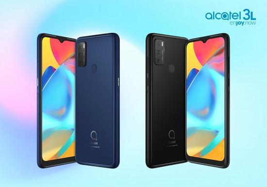 《【多彩联盟手机客户端登录】阿尔卡特推出入门款新机3L:水滴全面屏 4000mAh电池》