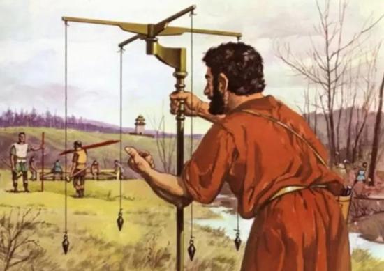 古罗马时期的水准仪 | Youtube