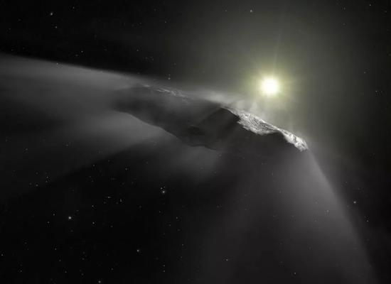 星?#21490;?#23458;Oumuamua,有人认为它可能是一艘外星飞船