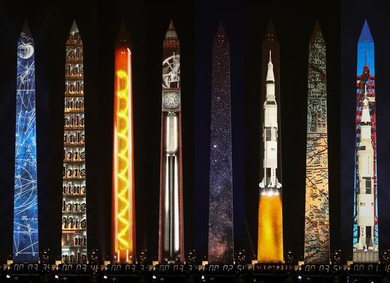从华盛顿广场到你的手机 五十年后我们这样纪念登月