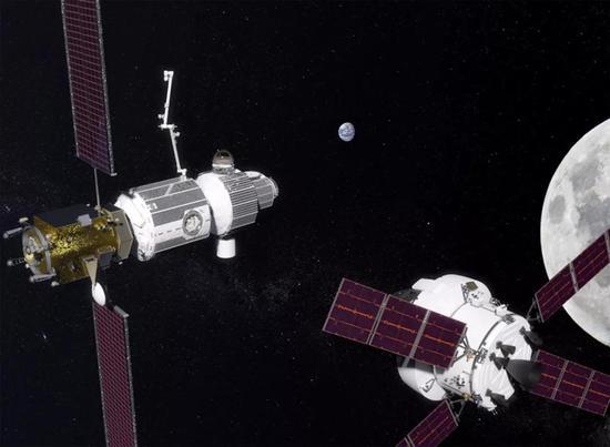 图丨月球轨道平台门户(概念)