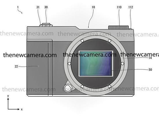 富士新专利示意图(图片来自TheNewCamera网站)