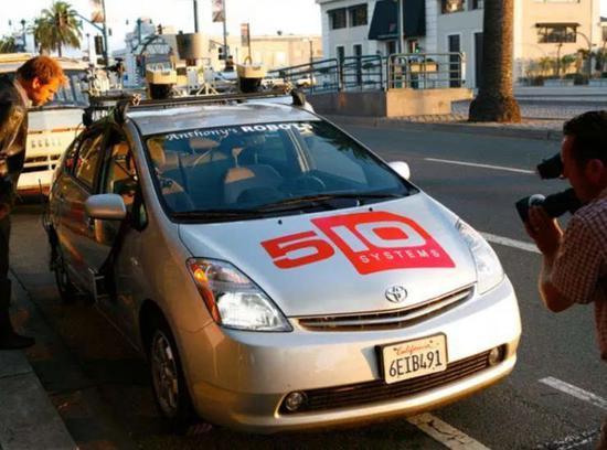 "510Systems的无人驾驶车""Pribot"",是Google无人驾驶汽车的雏形"
