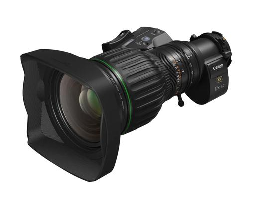 佳能推出CJ17e×6.2B便携式广播级变焦镜头:支持4K光学性能