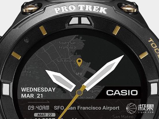卡西欧推出限量版智能手表 仅售700只