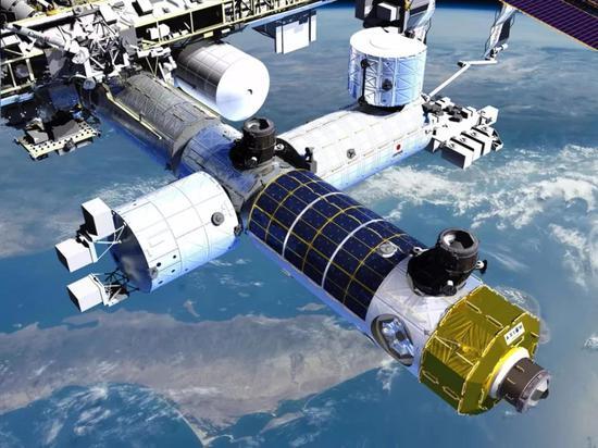 图丨Axiom Space空间站(概念)