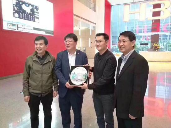马化腾到访新华三杭州总部,互联网+中国芯再掀创新里程