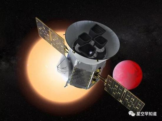 原定于今日清晨升空的TESS探测器因故推迟到19日清晨发射来源:NASA