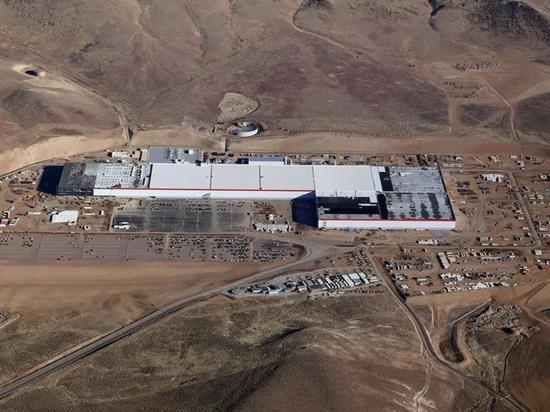 Tesla's Gigafactory.Tesla