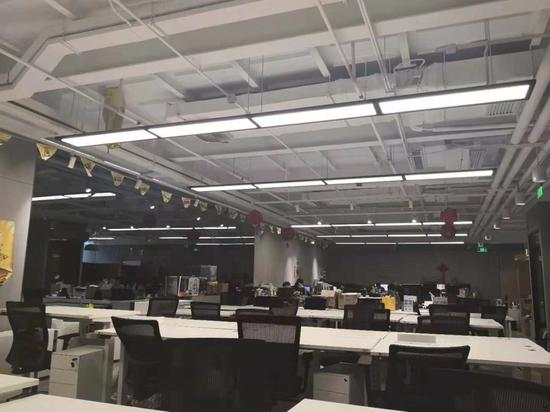 11月5日上午十点,小黄车位于中关村互联网金融中心5层的办公室
