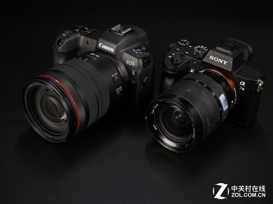15000元微单对决 佳能EOS R对比索尼A7M3