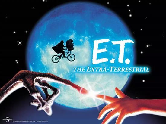 《E.T。外星人》海报