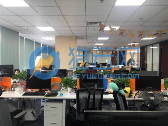 (小黄狗深圳互联网中心员工提供,图:小黄狗深圳互联网中心办公室)