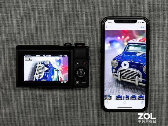相机竖拍的视频,导入手机即可直接竖屏播放