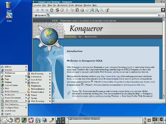 KDE 2.2.2 (2001)