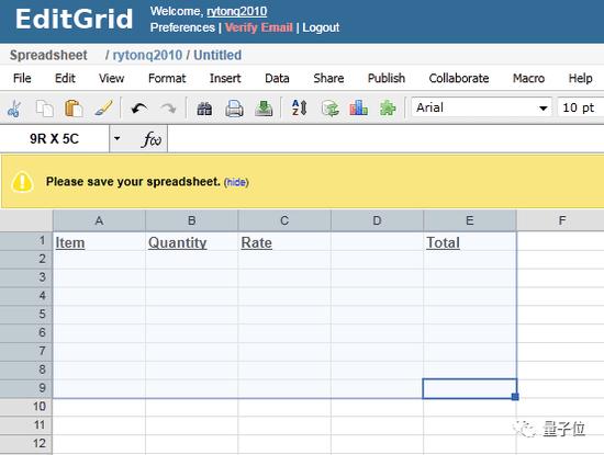 曾一度广受推荐的表格软件EditGrid