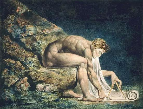 'Newton', William Blake, 1795-1805