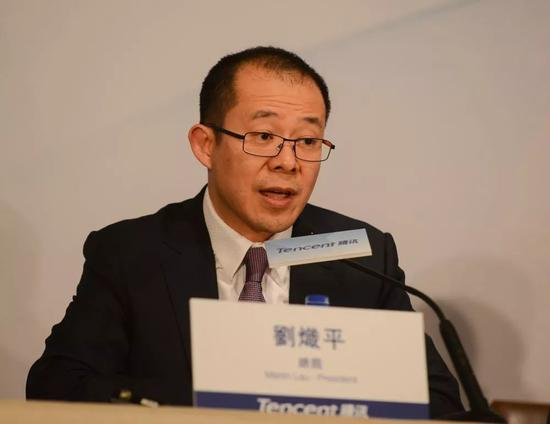 """2005年加入腾讯的刘炽平日后成为腾讯总裁,成为腾讯""""港派职业经理人""""的代表人物,奠定了腾讯的组织文化和治理风格"""