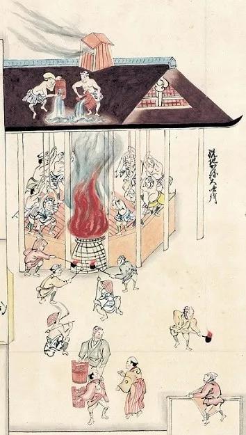 日本17-18世紀鑄錢場用踏鞴鼓風熔鐵(李延祥 供圖)