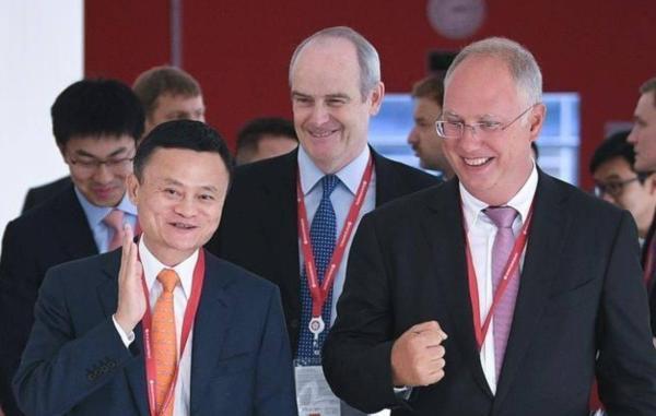 第四届东方经济论坛在俄罗斯符拉迪沃斯托克举办,阿里巴巴董事局主席马云出席论坛。