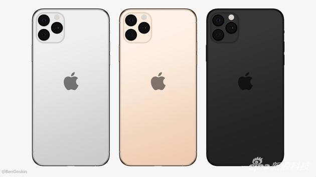 iPhone 11系列新渲染图