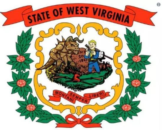 有灭亡爪的新州徽