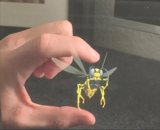 CES 2021展商展示神奇全息技术 有望打开3D交互大门