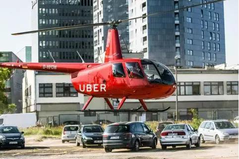 Uber Copter网约飞机