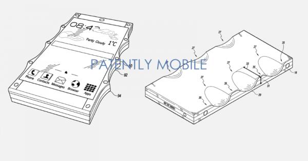 盘点奇葩的手机专利技术