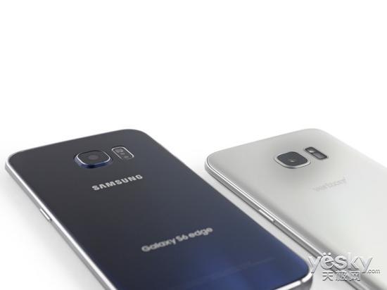 三星Galaxy S6 edge(左)与三星Galaxy 三星galaxy s7 edge(港版g9350双曲面)(右)摄像头对比