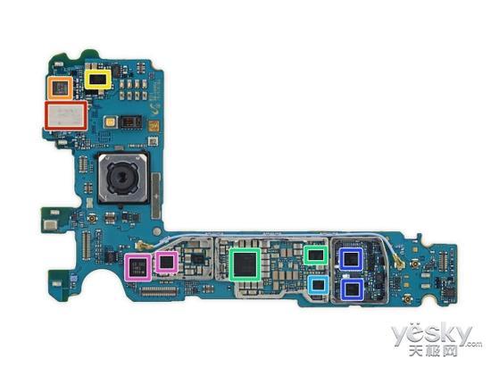 三星Galaxy 三星galaxy s7 edge(港版g9350双曲面)主板背面