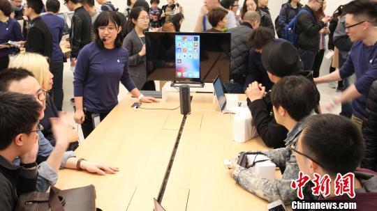 蘋果在華第34家零售店大連啟幕 今年中將破40家