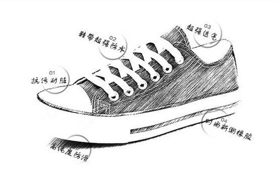 穿不脏的帆布鞋 懒癌晚期必须买一双第1张图