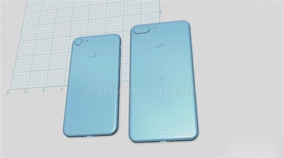 此前有关iPhone 7/7 Plus的曝光图