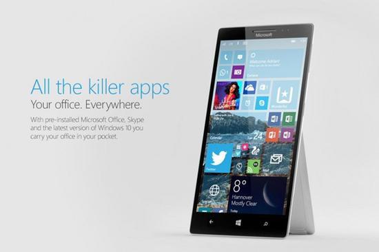 Surface Phone新传言:骁龙830+8G RAM(图片来自于Digitaltrends)