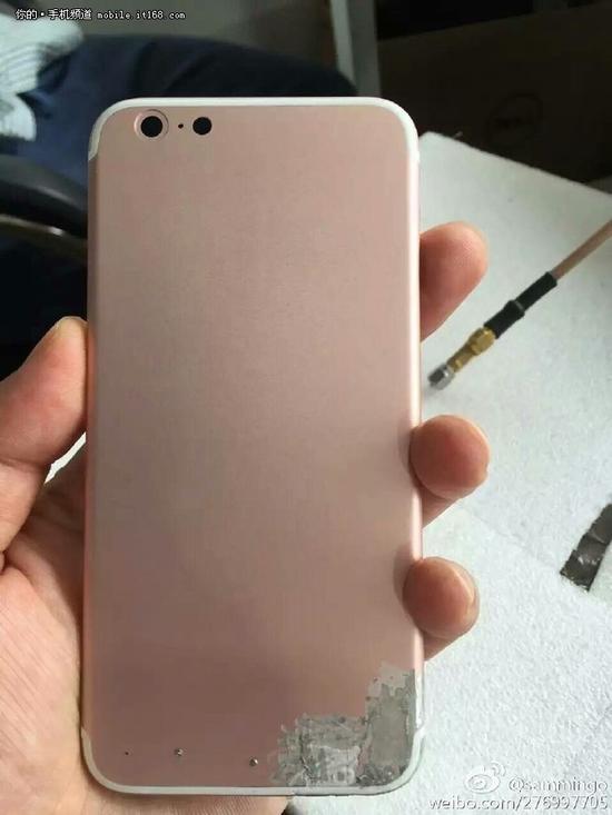 此前有关iPhone 7的曝光图