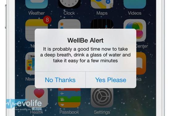 觉得压力山大? 让WellBe手环帮你找出导致紧张的元凶