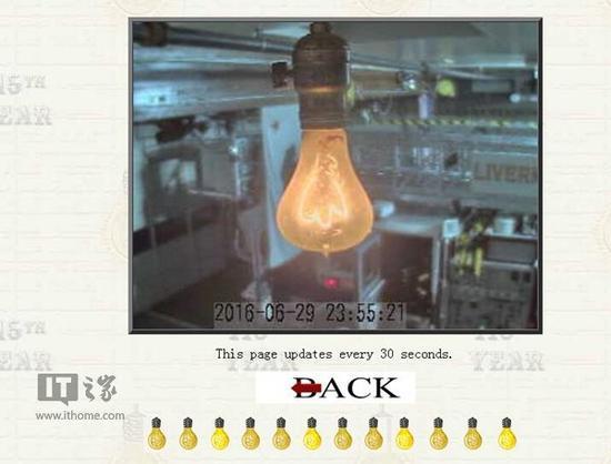 这枚灯泡已经亮了115年:专门网站直播它将何时熄灭