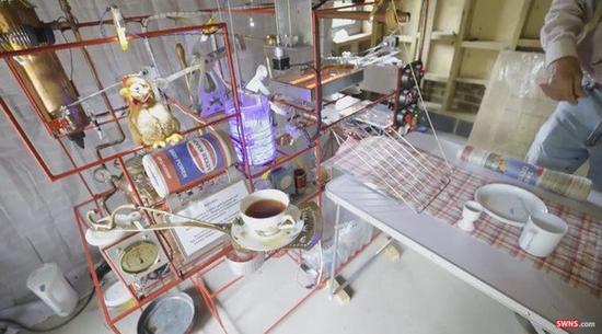 懒人早餐机 带你看看什么叫全程自动化