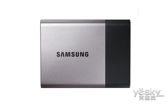 小巧且高速 三星T3移动固态硬盘