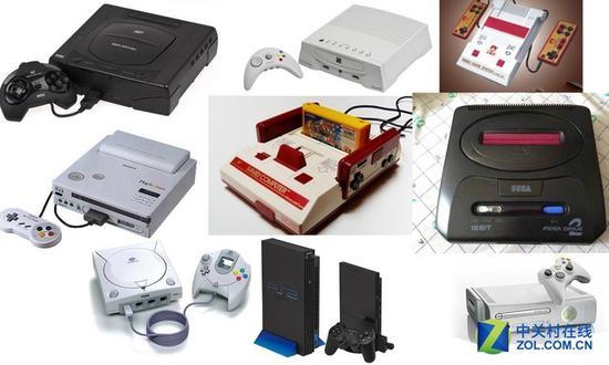 历代主流客厅游戏机