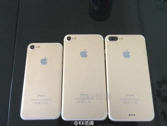 三款iPhone 7正在路上