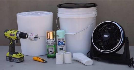 自己轻松DIY 300块钱就能造一台空调