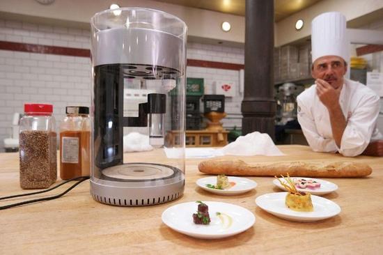 再过4年 你就能用3D打印技术在家造饭了