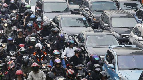 你在用滴滴叫汽车,印尼人却在忙着叫摩托图片 第3张